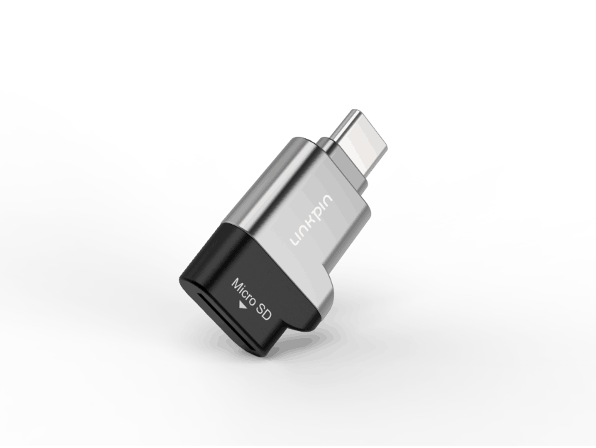 USB-C OTG Micro SD Card Reader