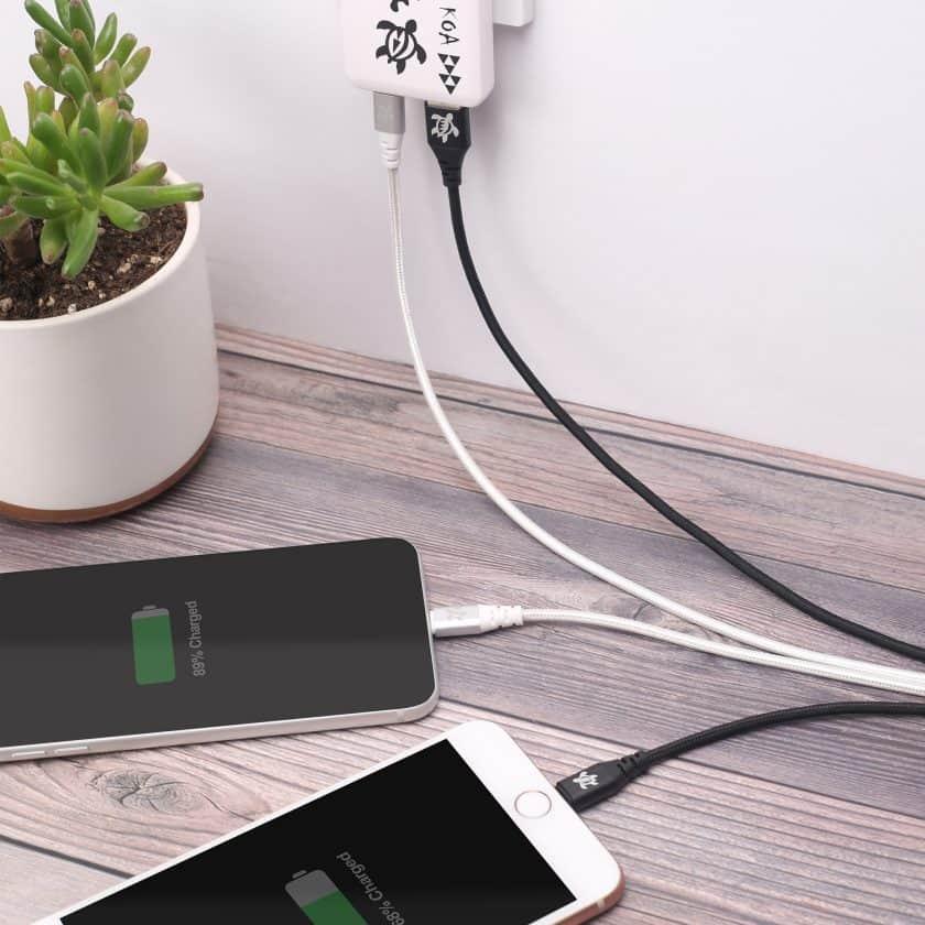 KOA USB to Lightning Charge & Sync Cable